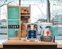 Gates Foundation Discovery Center Exhibit Displays