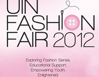 Poster Work for UIN Fashion Fair 2012