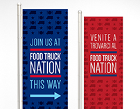 Food Truck Nation Signage