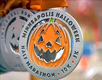 Halloween Half Marathon Video and Animation