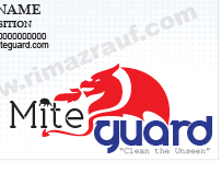 Business Card Design - MiteGuard