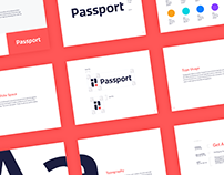 Passport Brand Identity
