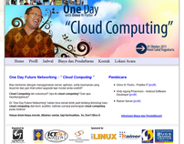 One Day Cloud Computing - Website Event Synaptic UII