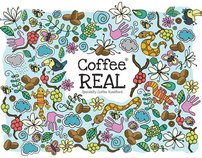 Coffee Real Branding