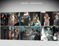 Valentino fragrances 3d gallery concept