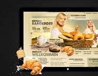 Web Design & Composing: Bakery