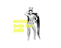 Poster & Flyer - Beija Flor 2009