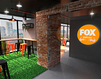 FOX Latam Headquarters corporate dining room proposal