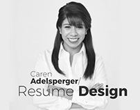 Creative Resume - Caren