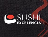 Sushi Excelencia - Rebranding-Menú & social media