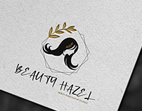 Beauty Hazel logo design