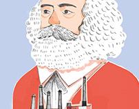 Karl Marx portrait