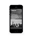 BLISCE mobile website