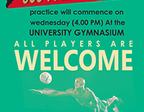 University Of Colombo Volleyball team Flyer