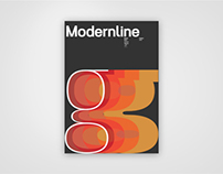 Modernline San-Serif Typeface