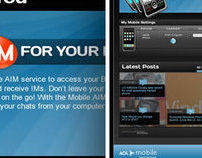 AOL Mobile Desktop
