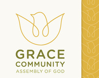 Grace Community: Logo & Stationery