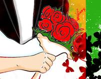 Marta e Alessandro sposi