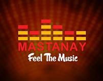 Mastanay Music App, Logo, Website & Banner