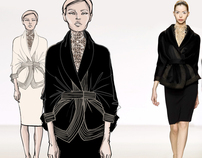 from sketch to runway look