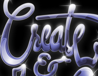 Create · Lettering Experiment