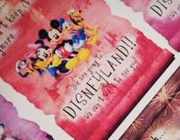 Disneyland Invites