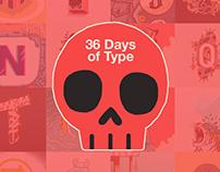 36 Days of Type 05   2018