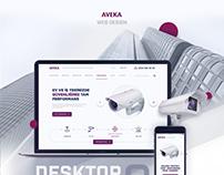 AVEKA - Website Design