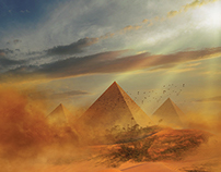 Wilbur Smith's Desert God, a novel (2014)