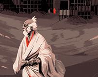Akira Kurosawa's RAN tribute