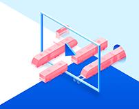 Концепция дизайна сайта Эврика ТВ