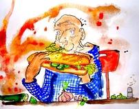 Ix-xiħ bil-ġuħ (Hungry old man)