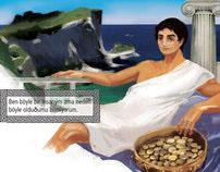 Atinalı Timon, Childrens Book