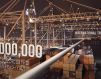 Hapag Lloyd TV Spot - Shipping Containers Storyboard