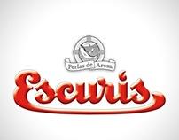 Rediseño packaging de conservas para la marca Escurís.