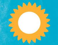 Volviendo a Vivir Logo and Brochure