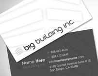 Big Building Branding Concept