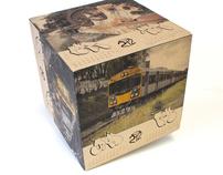 Trackside 2012 Cube Calendar