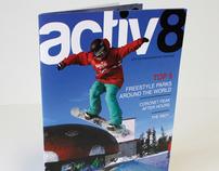 Activ8 Snowboarding Magazine