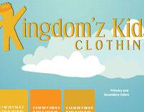 Kingdom Kidz Clothing Line   Branding Identity