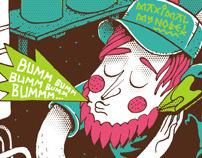 Attila Szamosi Illustrations 2009