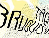 CalArts visiting artist poster for Tania Bruguera