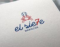 Logotipo & Menú - el sie7e mariscos