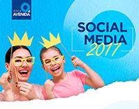 SOCIAL MEDIA - ÓTICA AVENIDA 2017