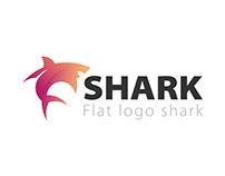 Flat Logo Shark