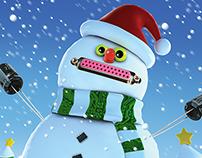 Electronic Snowman