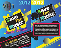 VH1 Event Brochure Design (Accordion layout)
