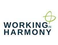Working In Harmony - Logo Design