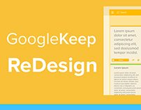 Google Keep ReDesign