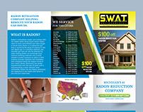 Radon Reduction Company Trifold Brochure